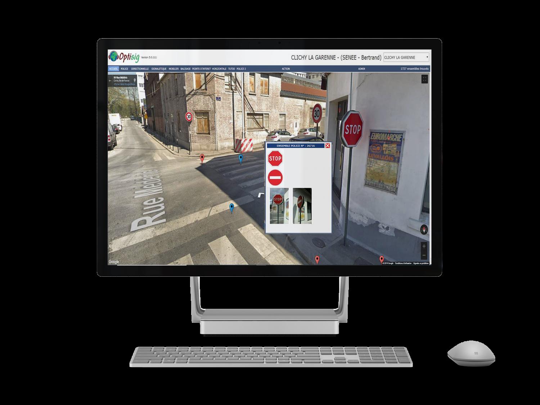 Application web Optisig
